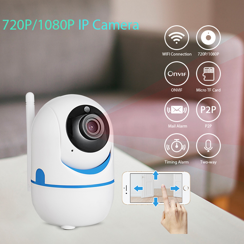 720P 1080P FHD Mini Indoor Portable Small font b Wireless b font Home Security WiFi IP