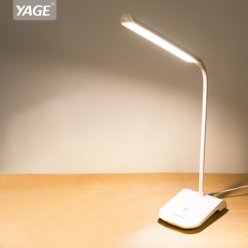 YAGE gooseneck lamp reading light usb 22 led desk clip led lights touch switch lamp with clip Removable lamp bending lampYAGE gooseneck lamp reading light usb 22 led desk clip led lights touch switch lamp with clip Removable lamp bending lamp
