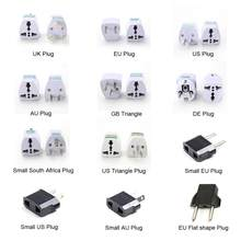 Universal UK US au EU AC Power Socket Plug Travel Charger Adapter Converter 2 Platte Pin hot ~(China)