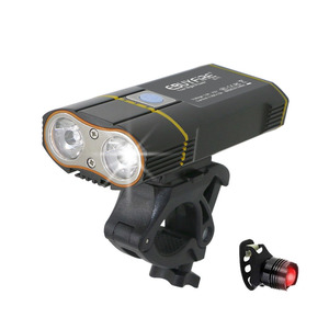 6000LM Bicycle Light 2x XML-L2