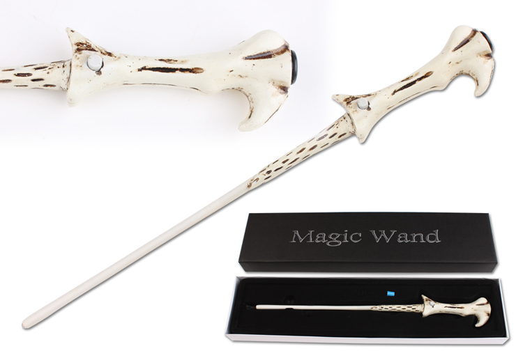 Free Shipping Christmas Gift  HP Led Voldemort's Magical Wand New In Box Led Light Wand