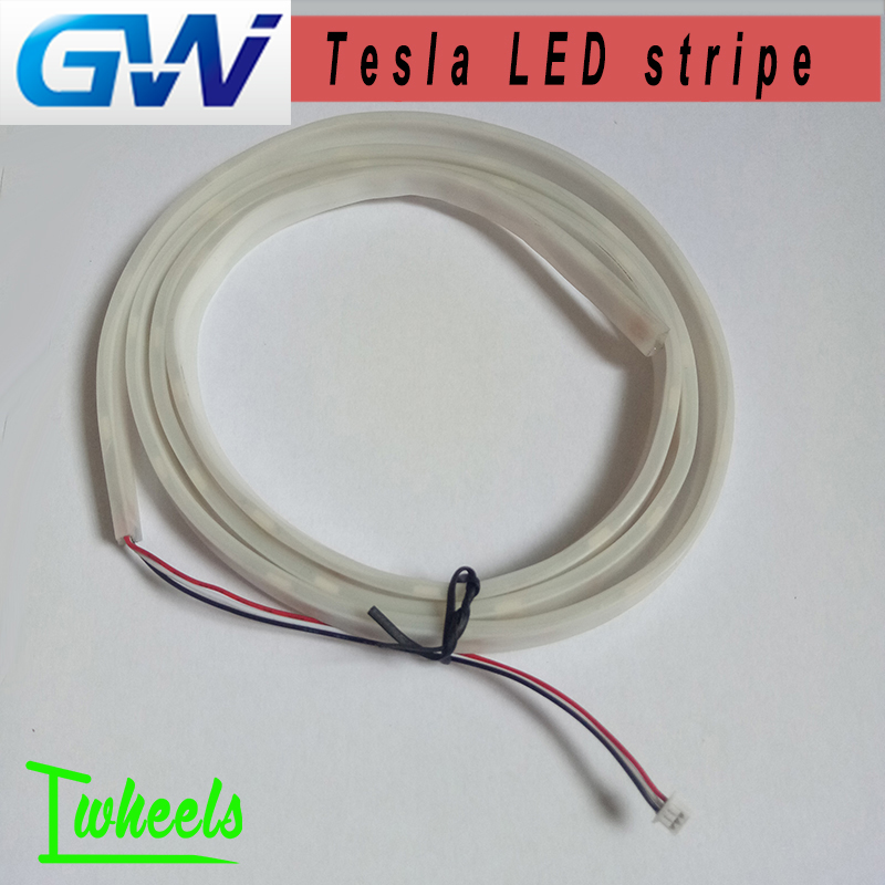 Original GotWay electric unicycle Tesla LED stripe Flexible lamp belt spare Accessories