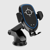 ENMOV New Design Wireless Charger Car Holder Automatic Clamping Fast Charging Car Mount Phone Holder Air Vent GPS