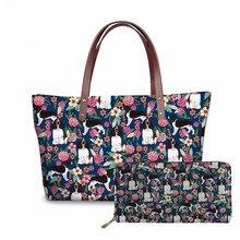 NOISYDESIGNS Cute West Highland Terrier Dog Design Women Bag Top-handle Bags Ladies Party Big Shoulder Clutch