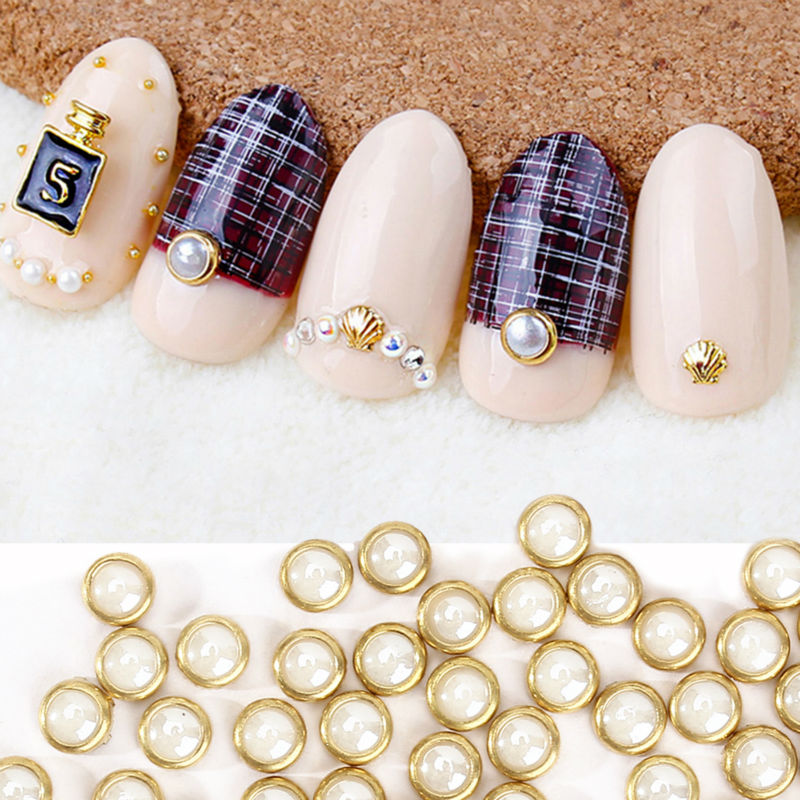 Perfect summer 3d nail art pearl rhinestones 4mm nail art tool perfect summer 3d nail art pearl rhinestones 4mm nail art tool metal studs peal charm craft diy manicure nail decorations in rhinestones decorations from prinsesfo Images