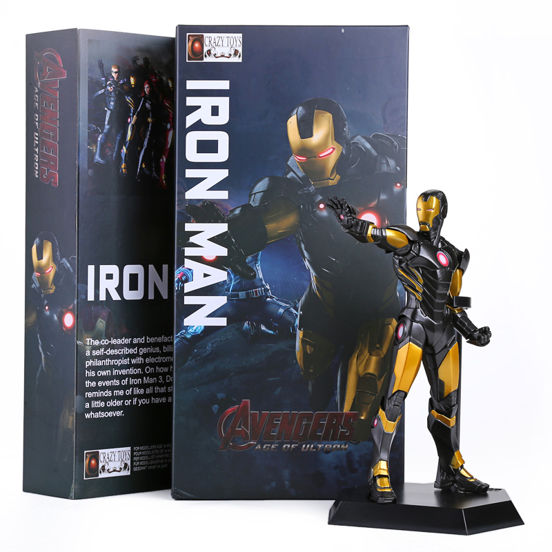 Crazy Toys Avengers 2 Age of Ultron Iron Man MARK 20 PVC Action Figure Collectible Model Toy 9 23CM HRFG354
