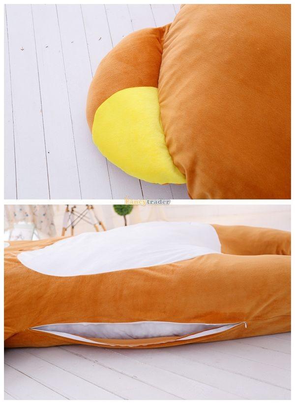 Fancytrader   200cm X 150cm Giant Huge Soft Cute Rilakkuma Double Bed Carpet Tatami Mattess Sofa, FT50336 (4)