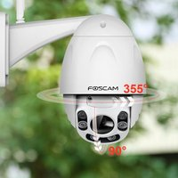Foscam FI9928P 2 0MP 1080P Pan Tilt 4X Zoom Wireless Outdoor IP Camera