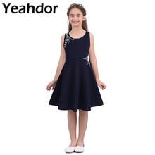 Cô Gái Hoa Đầm Trẻ Em Bé Gái Không Tay Chói Mắt Ren Công Chúa Form Đầm Suông Cho Tiệc Cưới Thường Ngày Mùa Hè
