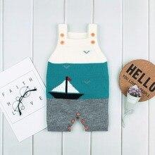 Baby Girls Summer Rompers Fashion Sleeveless Little Boys Overalls Super Soft Knitting Children Jumpsuits Toddler Unisex Clothing