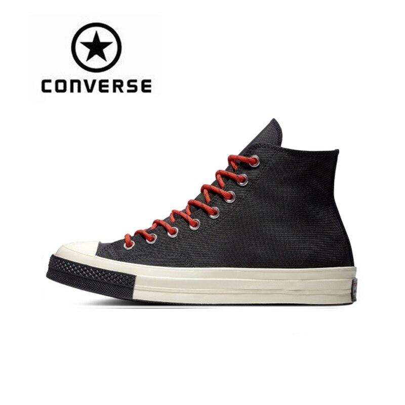 Converse 1970 s Unisexe Planche À Roulettes Chaussures Classique Toile High Top Anti-Résistant Glissante Confortable