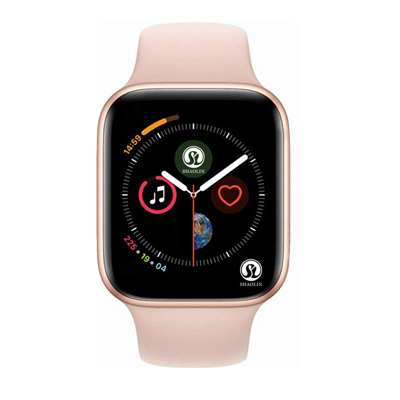 ROSE GOLD Smart Watch Series 4 Smartwatch for apple iphone 6 6s 7 8 X XS