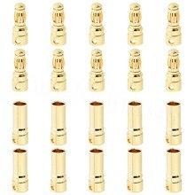 10Set/Lot Female Male 3.5mm Gold Bullet Banana Connectors RC ESC LIPO Battery Device Electric Motor