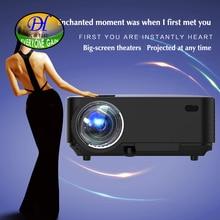 Todos Ganan 2000 lúmenes Proyector Android 4.4 HD LED Wifi Inteligente Proyector LCD de cine en casa Proyector de Vídeo TV Beamer mini290A