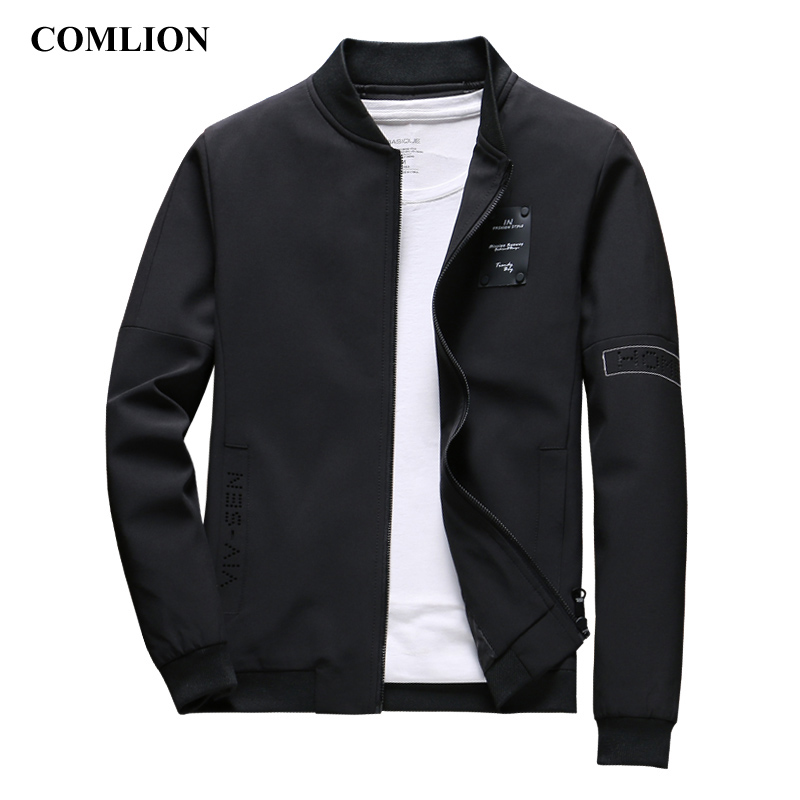 COMLION Mens Spring Jackets and Coats Solid Color New 2018 Casual Jacket Men Hot Sale Male Fashion Jacket Jaqueta Masculina C34
