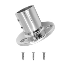 316 Stainless Steel Boat Hand Rail Fitting 25mm/ 1inch 90 Degree Round Stanchion Base
