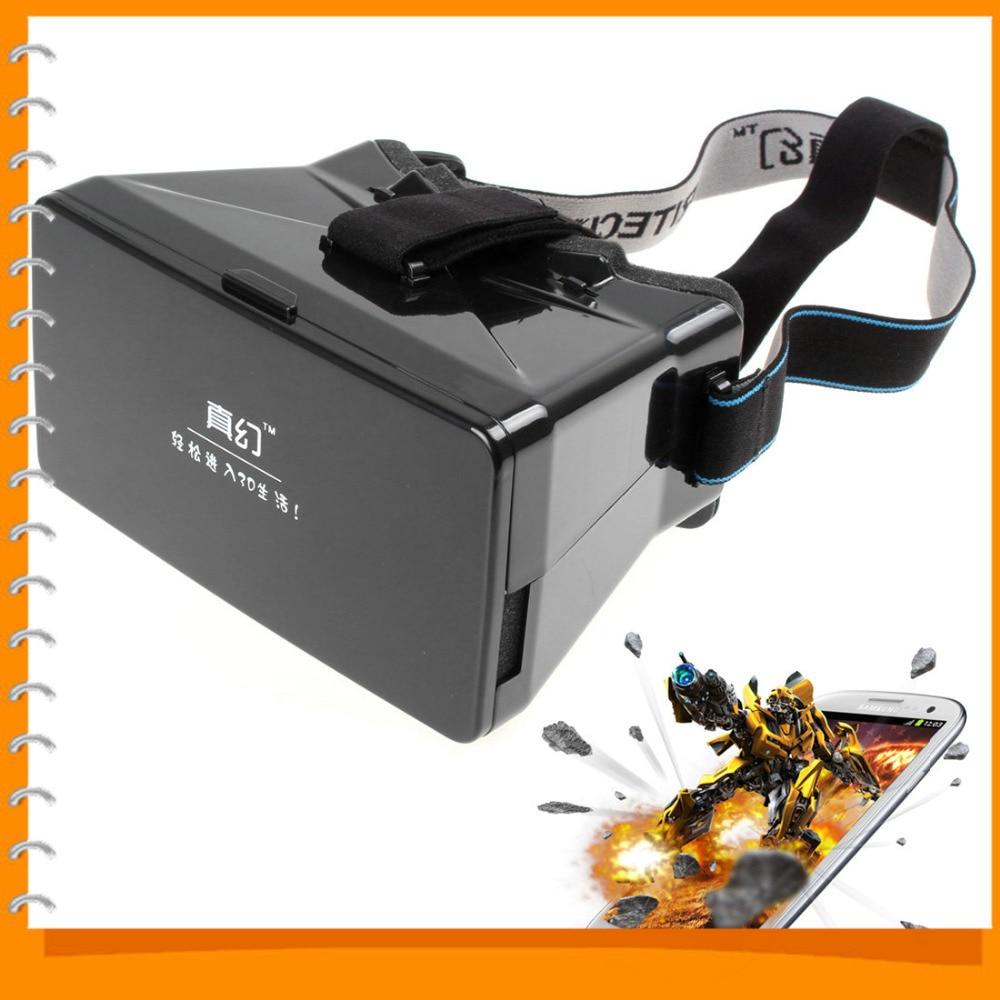 "<font><b>Head</b></font> <font><b>Mount</b></font> <font><b>Plastic</b></font> Google Cardboard <font><b>VR</b></font> Universal Virtual Reality 3D <font><b>Video</b></font> <font><b>Glasses</b></font> for 3D Movies & Games 3.5-5.6"" Phone"