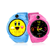 New Arrival GPS Smart Watch Baby Kids LED Flashlight Call Children Safe SOS Anti-Lost Function Monitor Camera Remote Take Photo