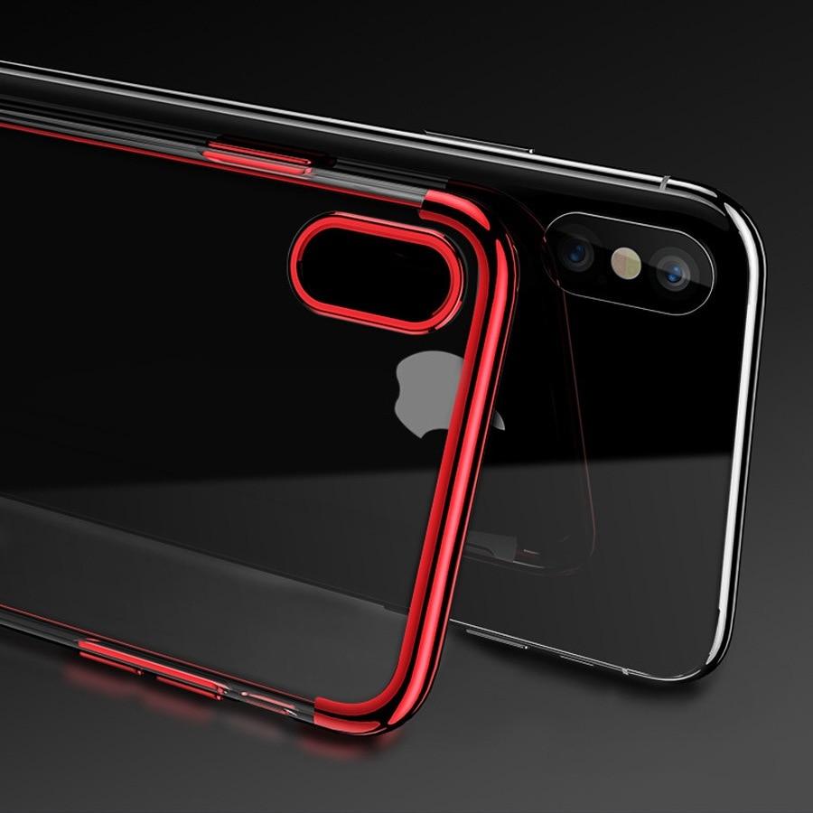 MRGO Case For iPhone 7 Plus Cover 5s TPU Silicone Coque ...