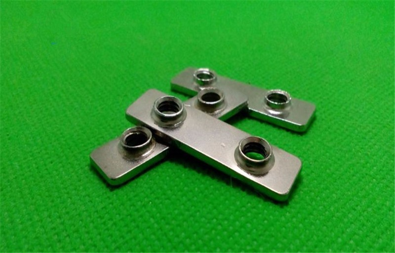 3D printer parts openbuilds double T Nut carbon steel chrome plated 1pcs