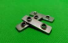 3D printer parts openbuilds double T Nut carbon steel chrome plated 1pcs(China)
