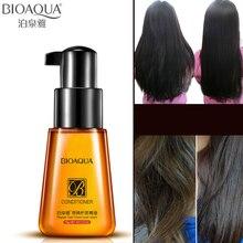 цена BIOAQUA Brand Hair Care Essential Oil Hair Conditioner Nourishing Nutrition Oil Disposable Bifurcation Repair for Dry Damage 70g онлайн в 2017 году