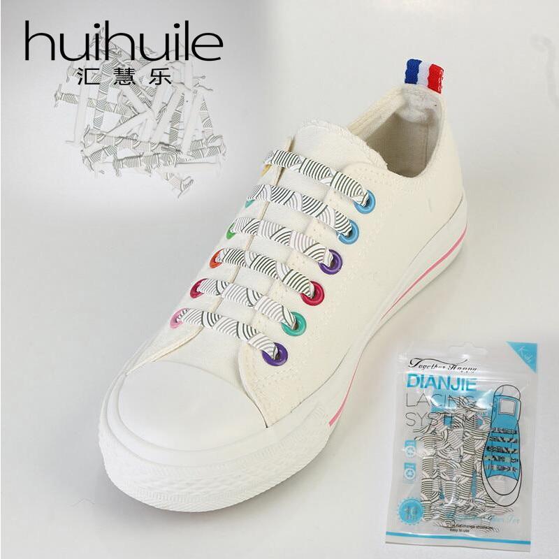 Nieuw ontwerp Geen stropdas veters voor volwassenen, elastische - Schoenaccessoires