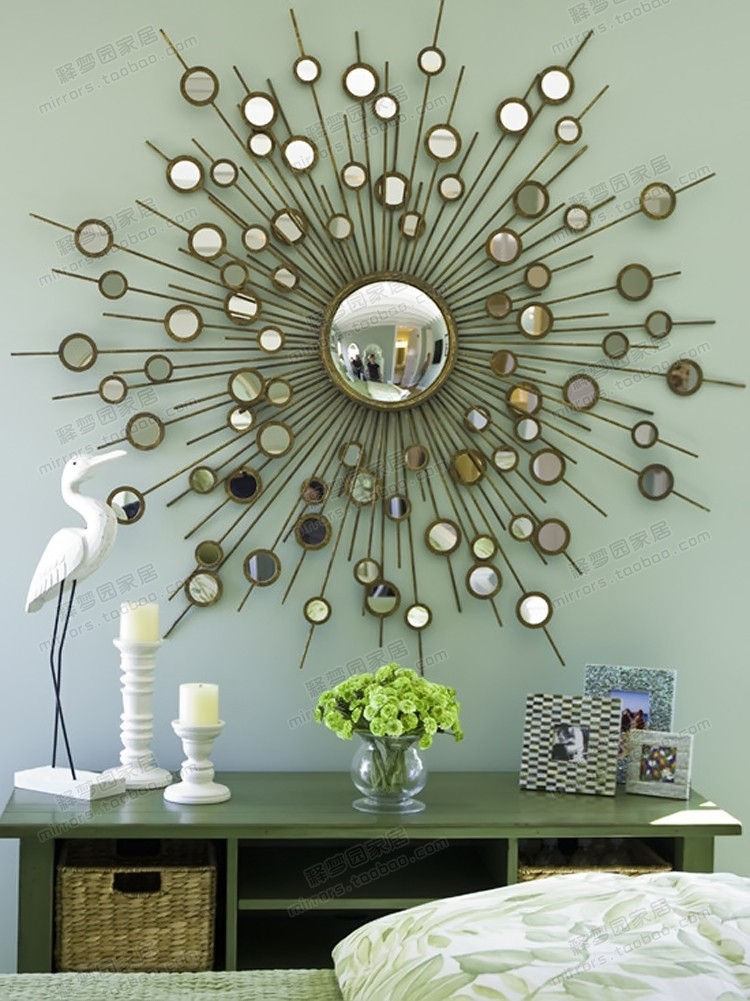 Beautiful decorative mirrors for living room photos for Mirror wall decoration ideas living room