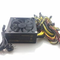 Free Ship Computer Mining Power 1800W Psu PC Power Supply Support 8 Card For Miner High