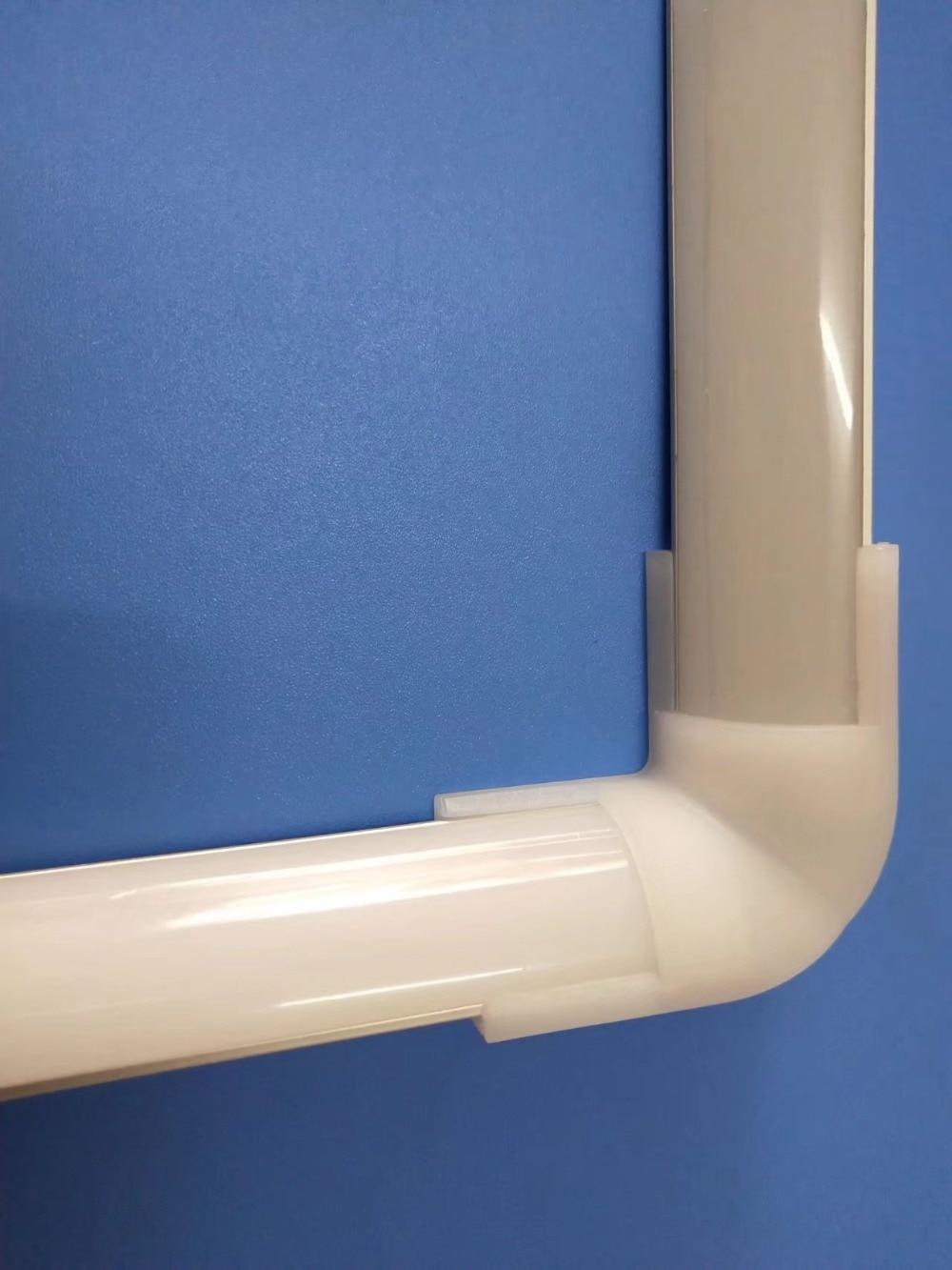 bezpłatna wysyłka narożny profil aluminiowy z pokrywą i - Oświetlenie LED - Zdjęcie 2
