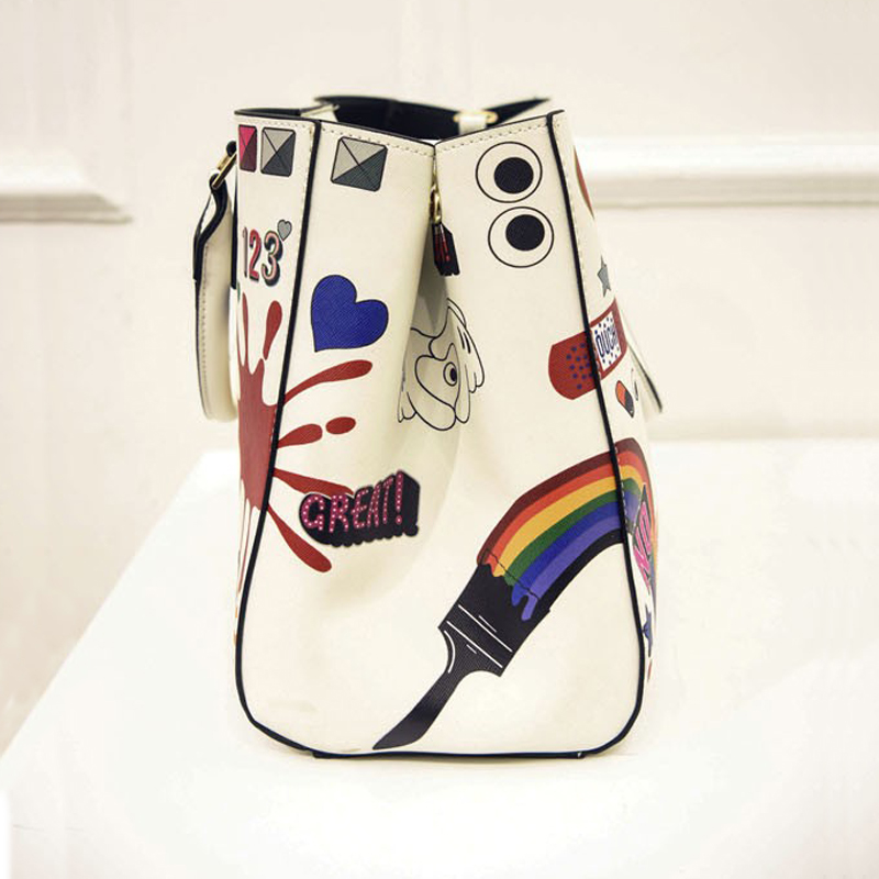 novas mulheres moda bolsas de Pattern : Graffiti Print