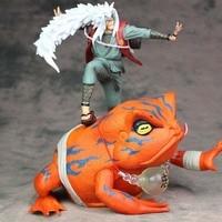 Anime action Naruto toy figure Jiraiya Gama Bunta Shippuden model cartoon kids figure gift collectible F7707