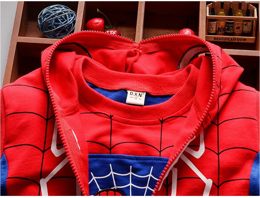 HTB1qAaLQXXXXXXtXVXXq6xXFXXXC - Boy's Cool Spring/Summer 3 Piece Set - Coat, Pants, and T-Shirt - Spider Man Design