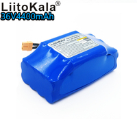 Liitokala 36v 4.4ah lithium battery 10s2p lithium ion battery pack 36v 4400mah scooter twist car battery