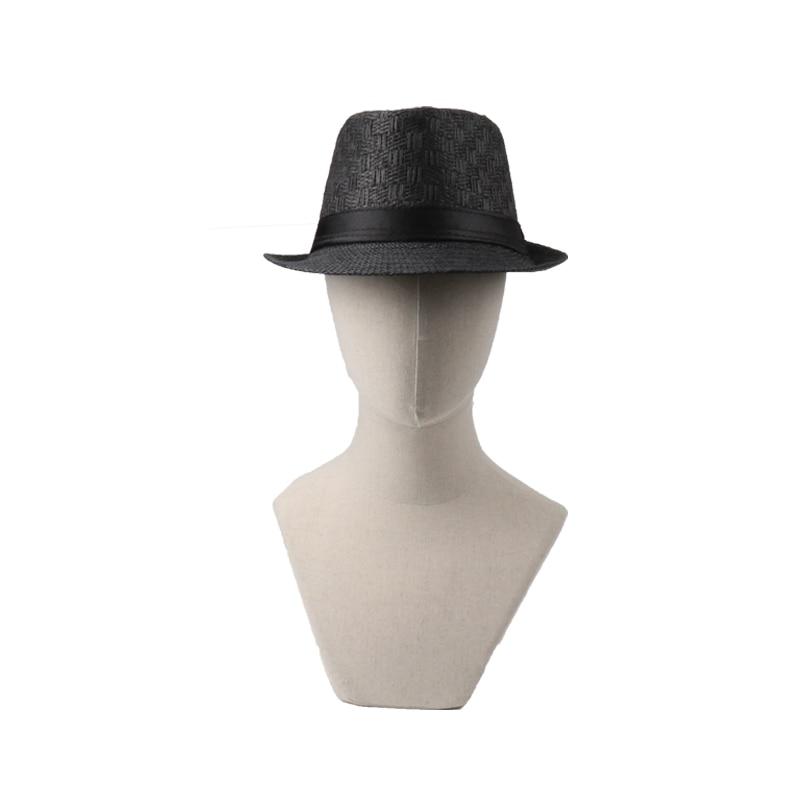 18 Summer Cowboy Hat Straw Hat Cappello Leisure Beach Visor Women Hat Hoeden Voor Mannen chapeau de paille femme Hats Caps Men 8