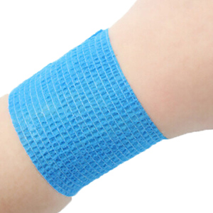 Image 5 - 1pc Self Adhesive Elastic Tattoo Bandage Non woven Fabric 4 .5cm Wide Elbow Binding Protection Wrap Nail Tape Tattoo Accessories