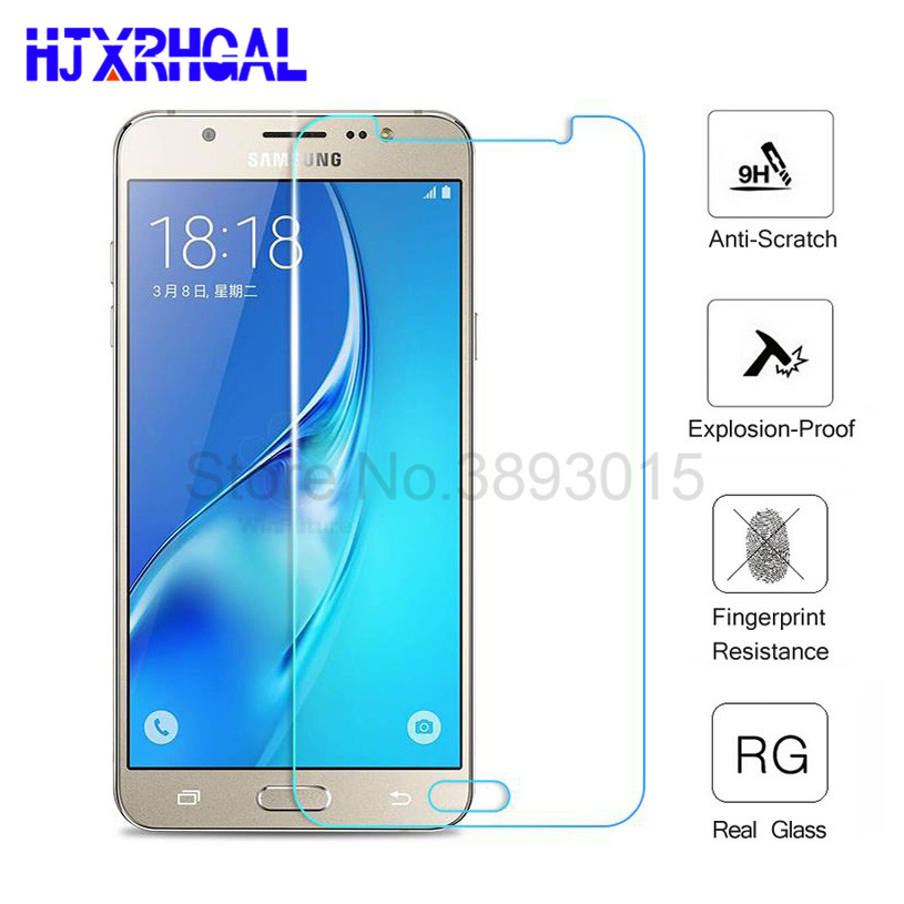 9H Tempered Glass For Samsung Galaxy A3 A5 A7 2017 Screen Protector For Samsung A5 A3 A7 2016 note3 note4 note5 Protective film-in Phone Screen Protectors from Cellphones & Telecommunications