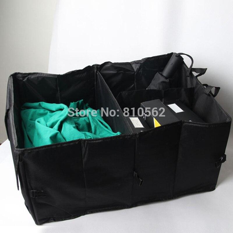 Almacenamiento maletero del coche guantera acabado suministros de automoción coche cubo de basura plegable guante bolsa de red para Granta largus Kalina 4x4