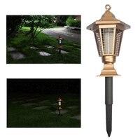 태양 전원 정원 공원 안티 모기 버그 곤충 플라이 램프