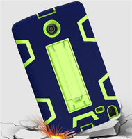 WES Heavy Duty Rubber Luxury Silicone Plasic Hybrid Case For LG G Pad 2 8 0