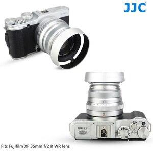 Image 2 - JJC En Métal Caméra Lentille Hotte Vis pour Fujifilm XF 35mm f/2 R WR Sur X T4 X T200 X A7 Xpro3 Xpro2 Remplace Fujifilm LH XF35 2