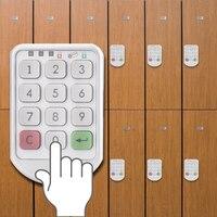 2 Sets Electronic Digital Password Lock Password Keypad Number For Cabinet Door Drawer Code Locks Combination Lock