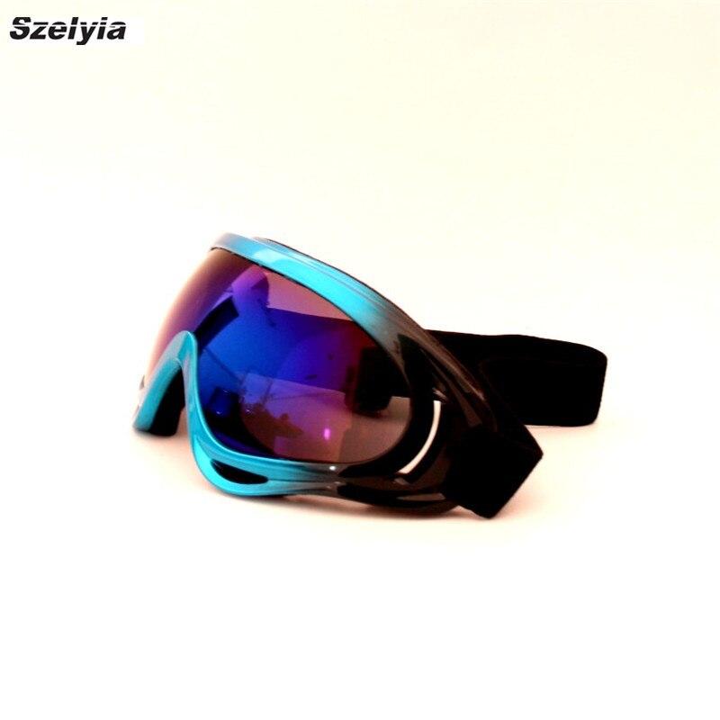 New Children Snow Skiing Eyewear Children Professional Ski Goggles Kids Lens UV400 Anti-fog Skate Glasses Snowboarding Boy Girl