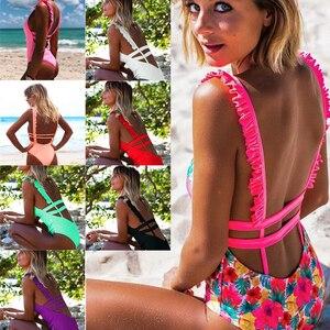 Женский купальник пуш-ап, бикини, пляжная одежда, купальник