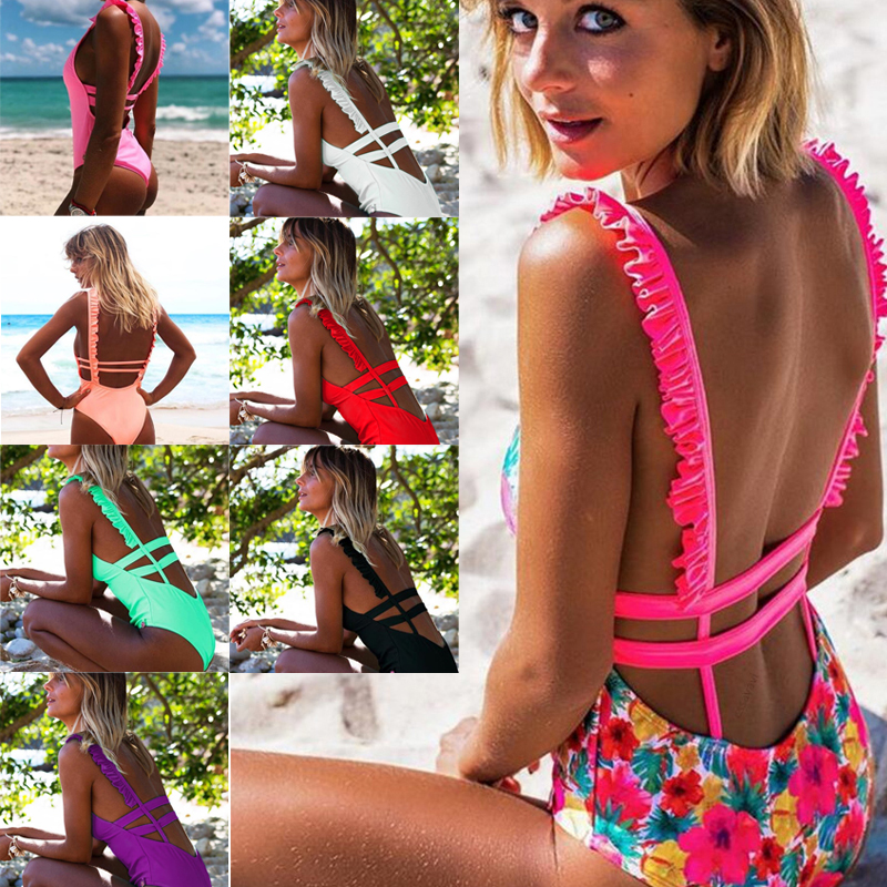 <font><b>Sexy</b></font> <font><b>Bikini</b></font> Push Up <font><b>Swimwear</b></font> Women Swimsuit Biquinis Feminino <font><b>Bikinis</b></font> <font><b>2018</b></font> Mujer Bathing Suit Beach Wear Tankini Swim Suit image