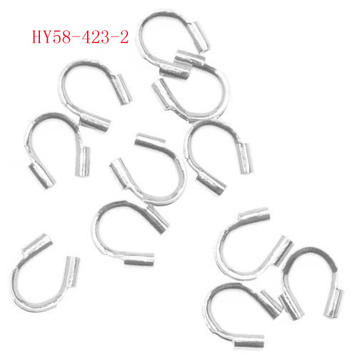 whole 2000pcs/lot Silver Plated golden plated Wire Guardian Wire Protectors jewelry findings components 58-423