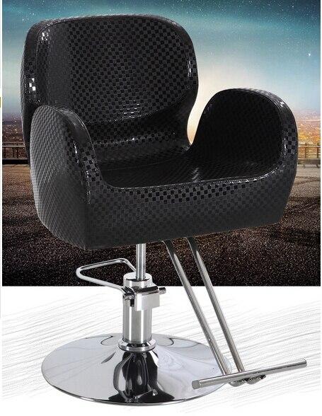 High-grade hair salons. Hairdresser. Barber chair. Salons haircut stool.