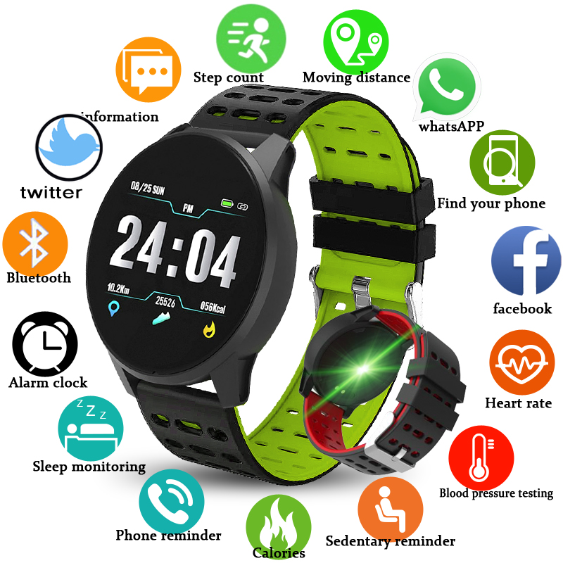 BANGWI 2019 New Sports Watch Blood Pressure Heart Rate Wristband Activity tracking Sport Smart Watch men women Fitness wristbandBANGWI 2019 New Sports Watch Blood Pressure Heart Rate Wristband Activity tracking Sport Smart Watch men women Fitness wristband