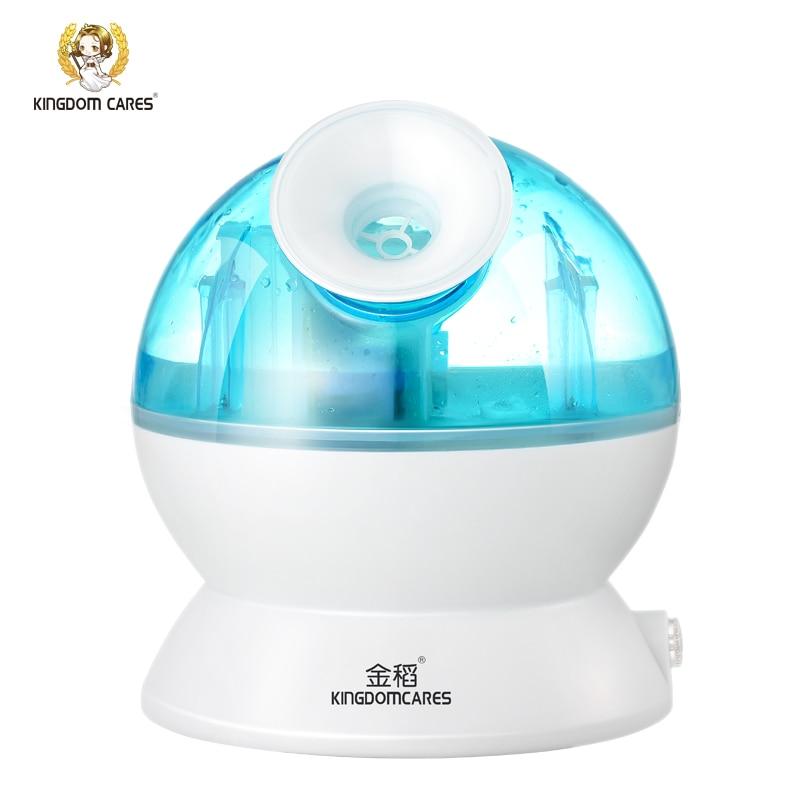 KINGDOM CARES Nano Ionic Facial Cold Sprayer Steamer Sunburn Repair Face Calm Air Humidifier Moisturizing Pores Home SPA Beauty dunobil nano