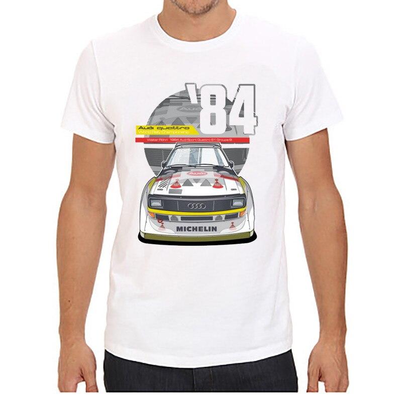 Мужские футболки с коротким рукавом и круглым вырезом, принт с красной машиной, плюс размер, топы, футболки, брендовые, хорошее качество, удобные футболки, топы - Цвет: 5